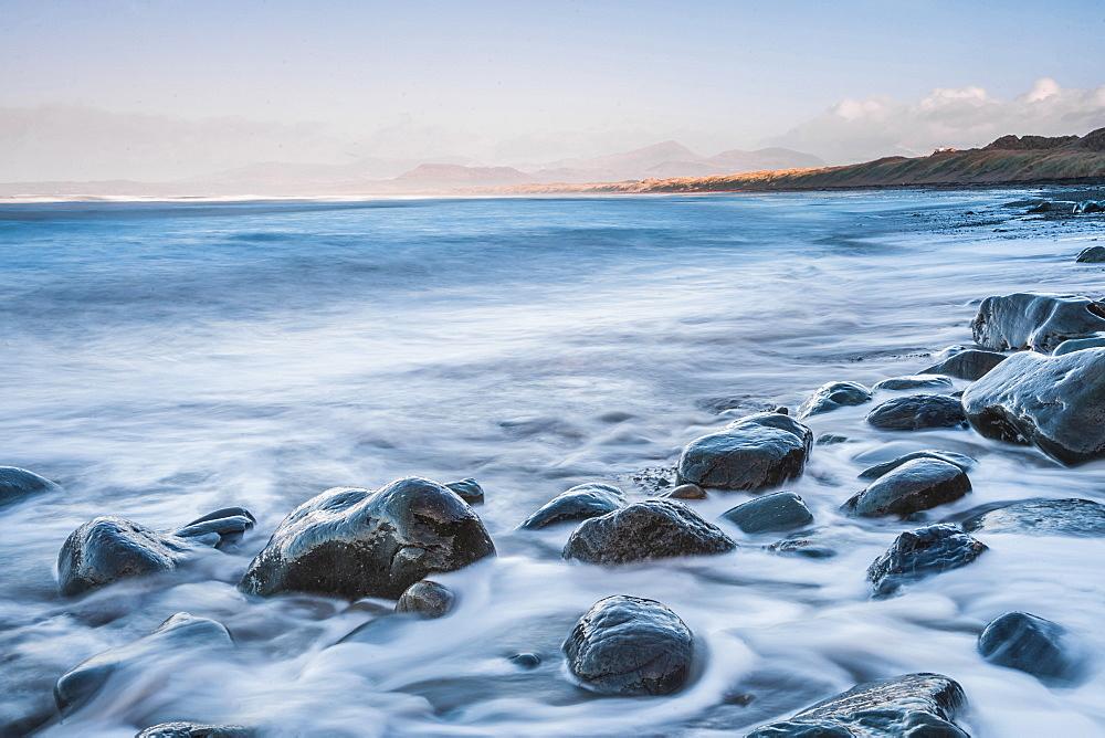 Harlech Beach, Snowdonia National Park, Gwynedd, North Wales, Wales, United Kingdom, Europe