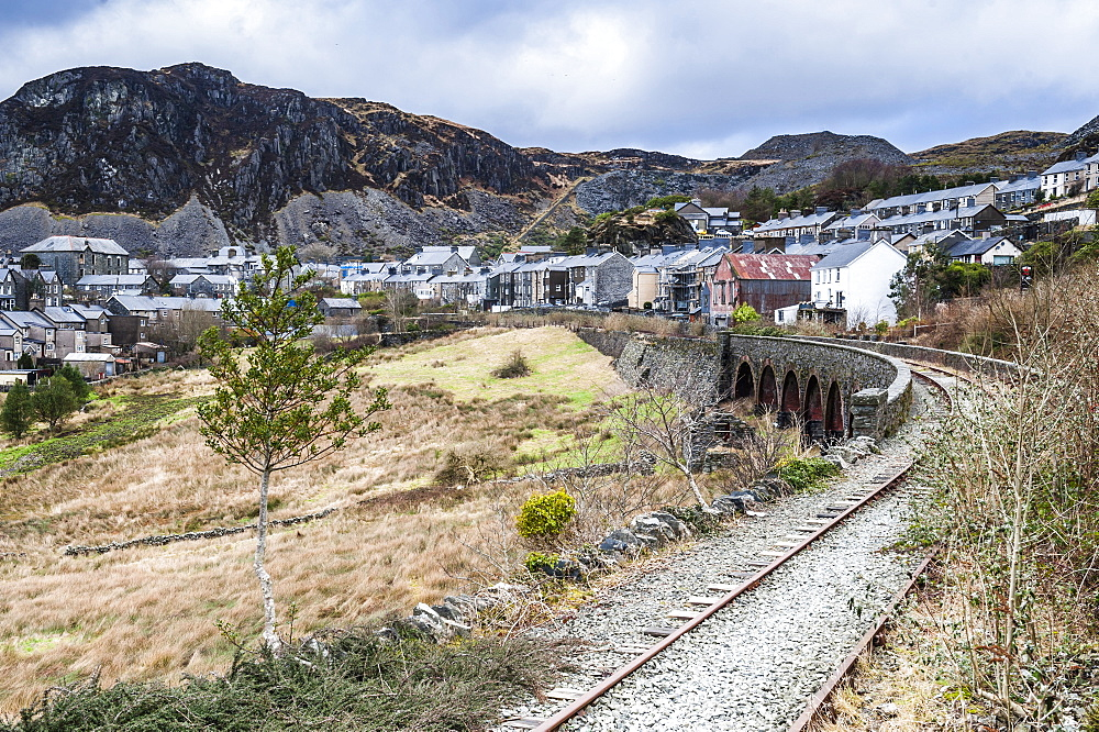 Town in Snowdonia National Park, North Wales, Wales, United Kingdom, Europe