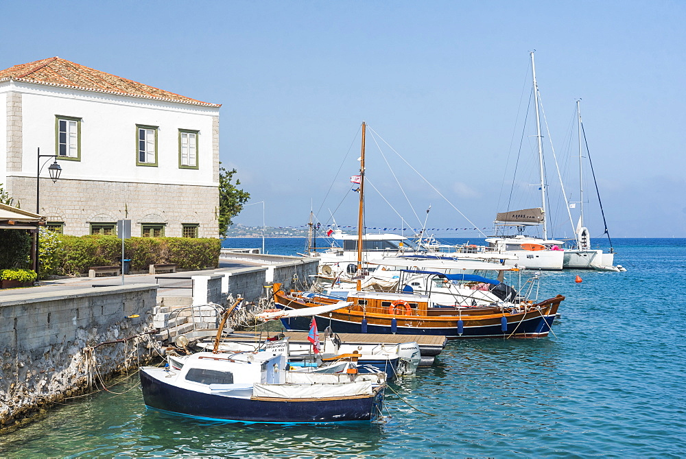 Spetses, Saronic Islands, Attica Region, Aegean Coast, Greek Islands, Greece, Europe