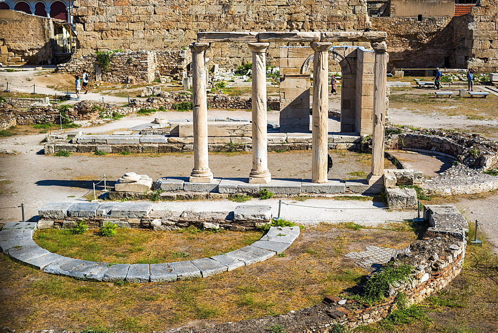 Ancient Roman Agora, Athens, Attica Region, Greece, Europe
