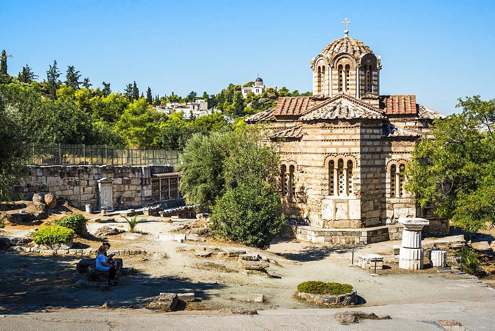 Ancient Agora of Athens, Attica Region, Greece, Europe