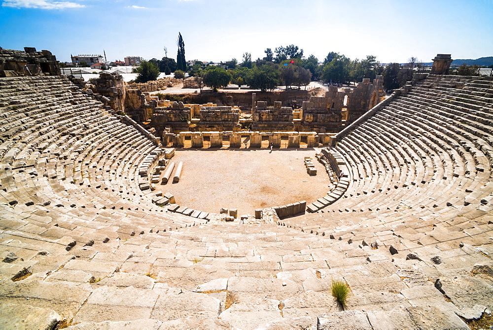 Myra Amphitheatre, the largest in Lycia, Demre, Antalya Province, Anatolia, Turkey, Asia Minor, Eurasia - 1109-3428