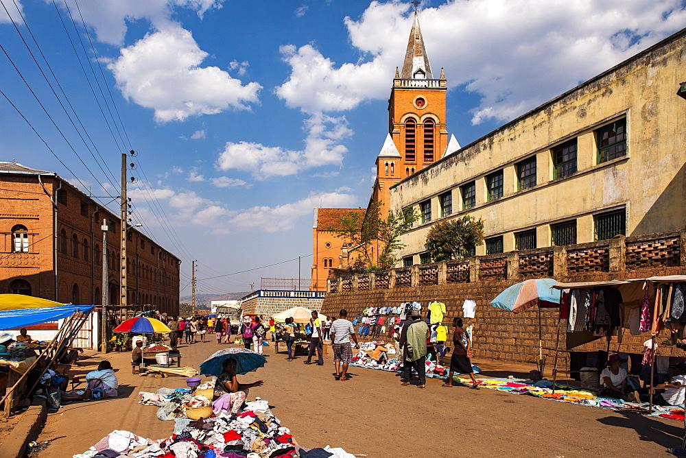 Market at Antsirabe, Vakinankaratra Region, Madagascar, Africa - 1109-3552