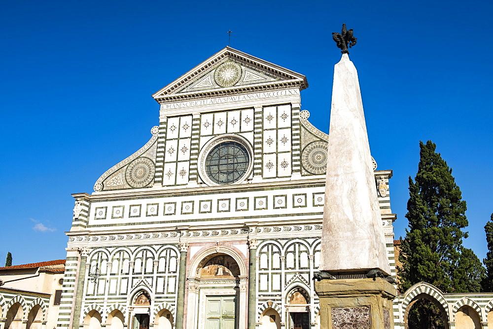 Basilica of Santa Maria Novella, Florence, Tuscany, Italy - 1109-3617
