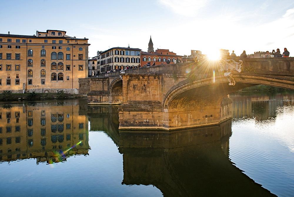 St Trinity Bridge, Florence, Tuscany, Italy - 1109-3622