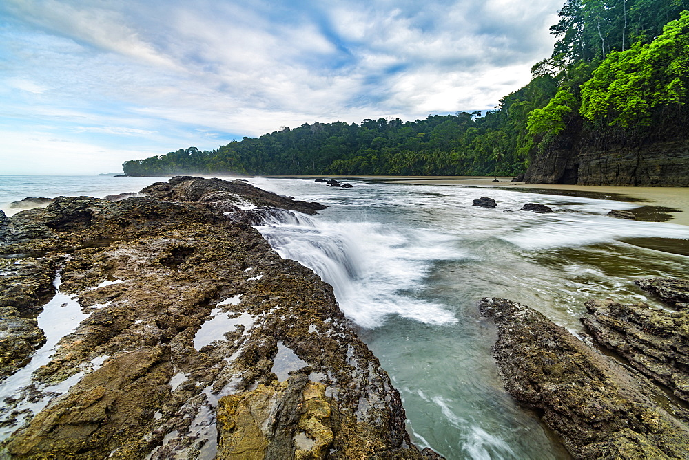 Playa Arco Beach, Uvita, Marino Ballena National Park, Puntarenas Province, Pacific Coast of Costa Rica