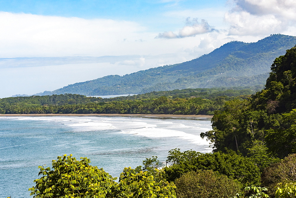 Uvita Beach, Marino Ballena National Park (Whale Tail National Park), Puntarenas Province, Pacific Coast of Costa Rica