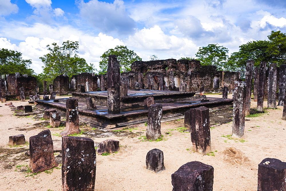 Buddha Seema Prasada, Polonnaruwa, UNESCO World Heritage Site, Cultural Triangle, Sri Lanka, Asia