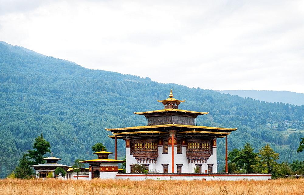 Kurji Lhakhang monastery, Bumthang Village. - 1111-143