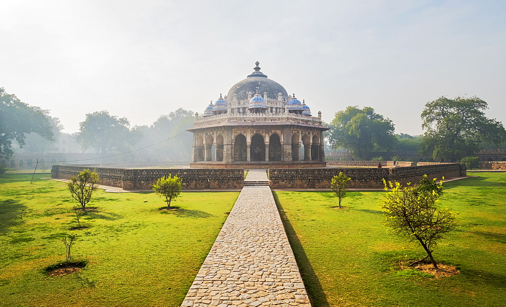 Isa Khan Tomb in Delhi, India, Asia - 1111-56