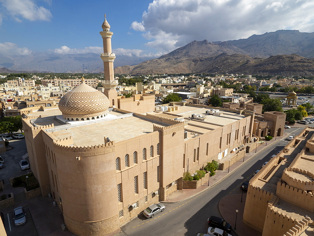 The Sultan Qaboos Mosque, Nizwa, Sultanate of Oman, Middle East