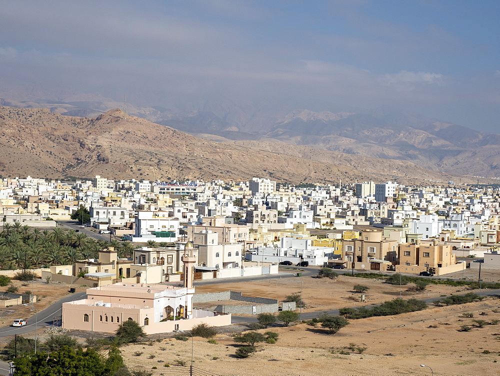 New construction and design in the city of Quriyat, Sultanate of Oman, Middle East