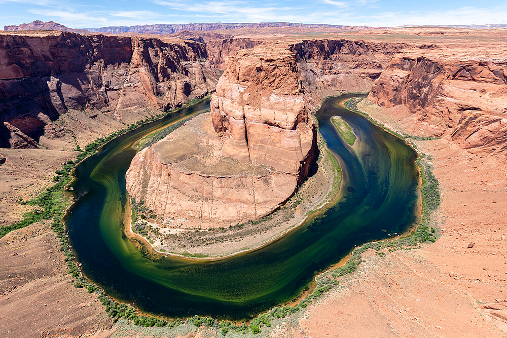 Horseshoe bend on the Colorado River, Glen Canyon National Recreation Area, Arizona, USA, North America. - 1112-5722