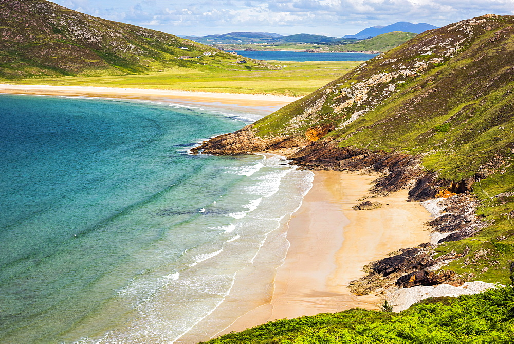 Tranarossan Beach, Rosguill Peninsula, County Donegal, Ireland