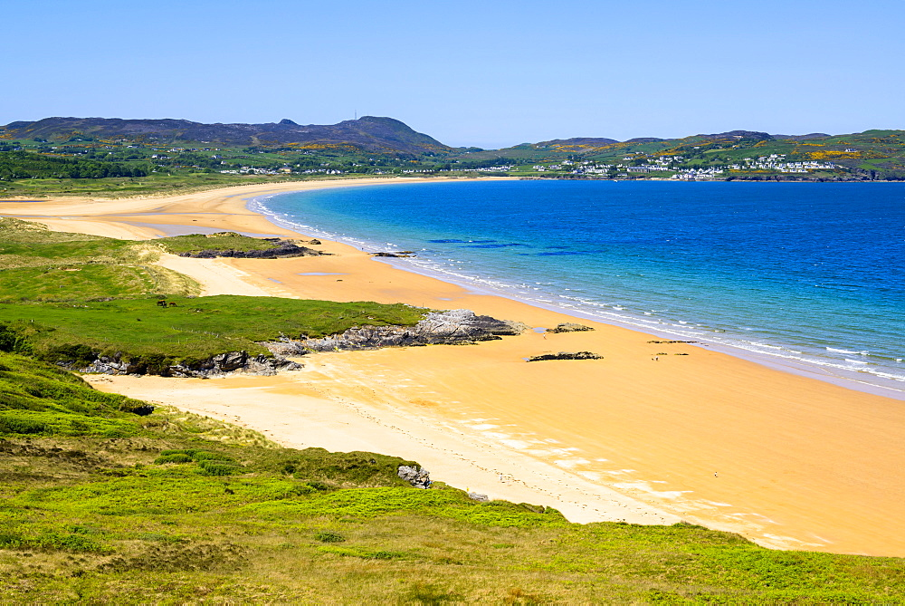 Portsalon Beach, Ballymastoker Bay, Northern Ireland, Portsalon, County Donegal, Ireland