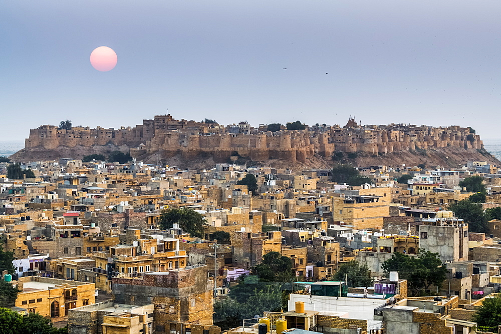 View of Fort Jaisalmer, Jaisalmer, Rajasthan, India - 1116-48555