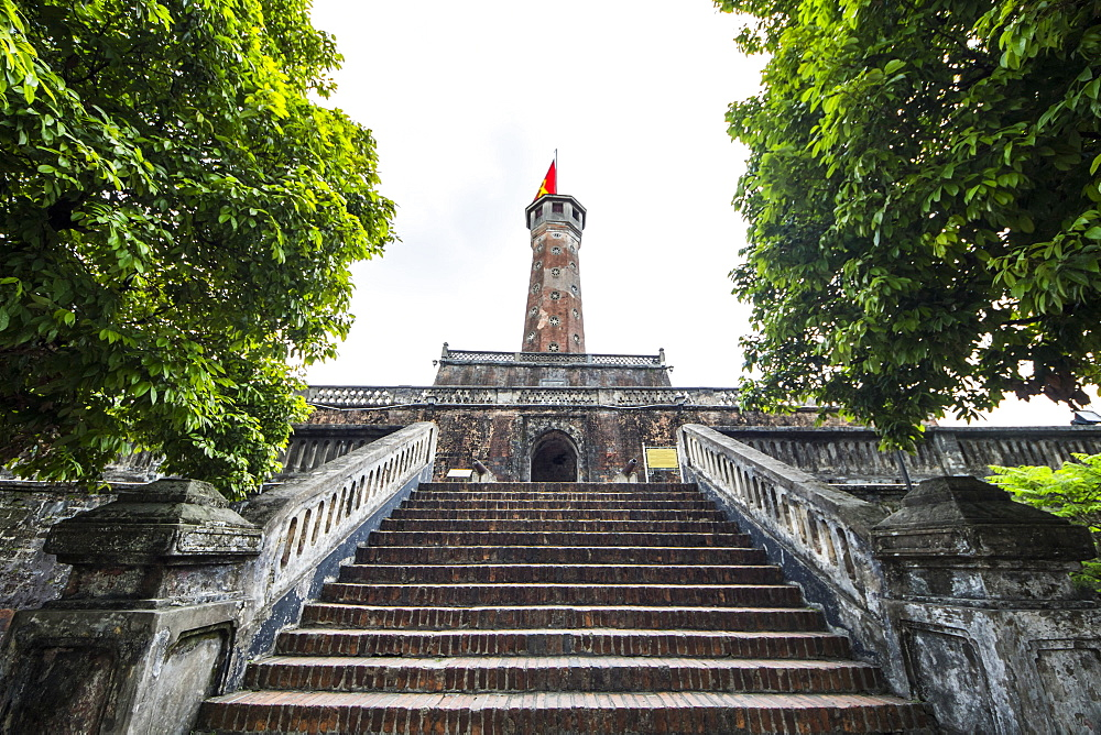 Hanoi Flag Tower by the Imperial Citadel of Thang Long, Hanoi, Hanoi, Vietnam