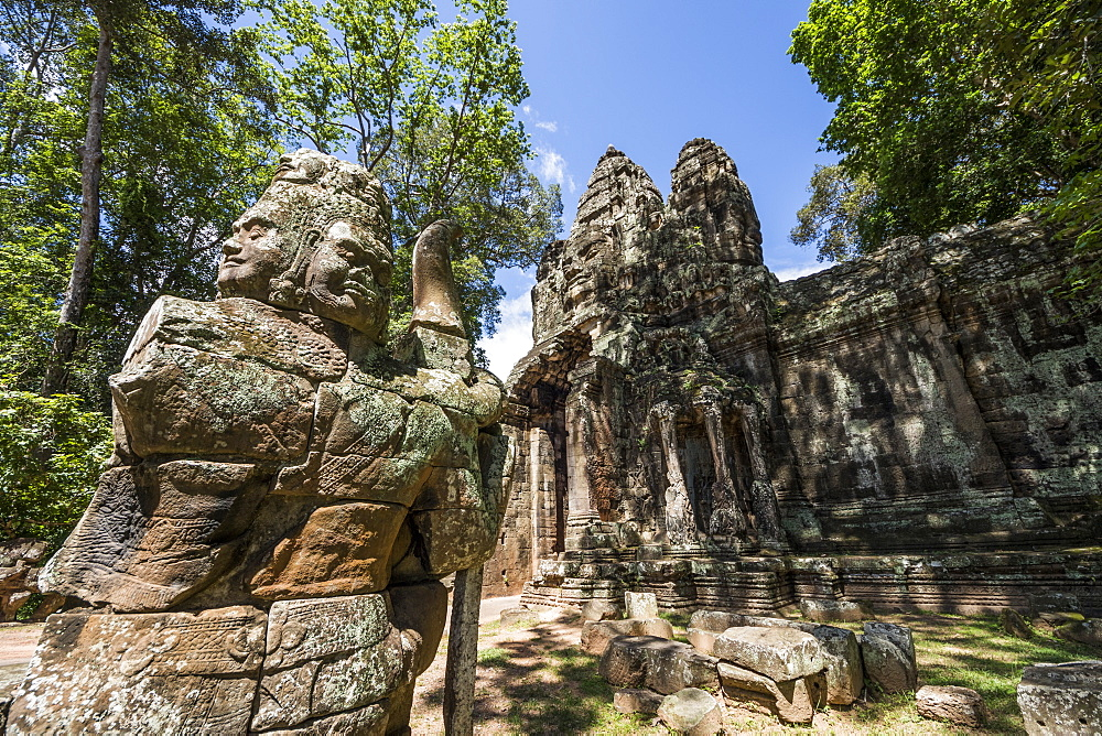Victory Gate, Angkor Thom, Siem Reap, Cambodia