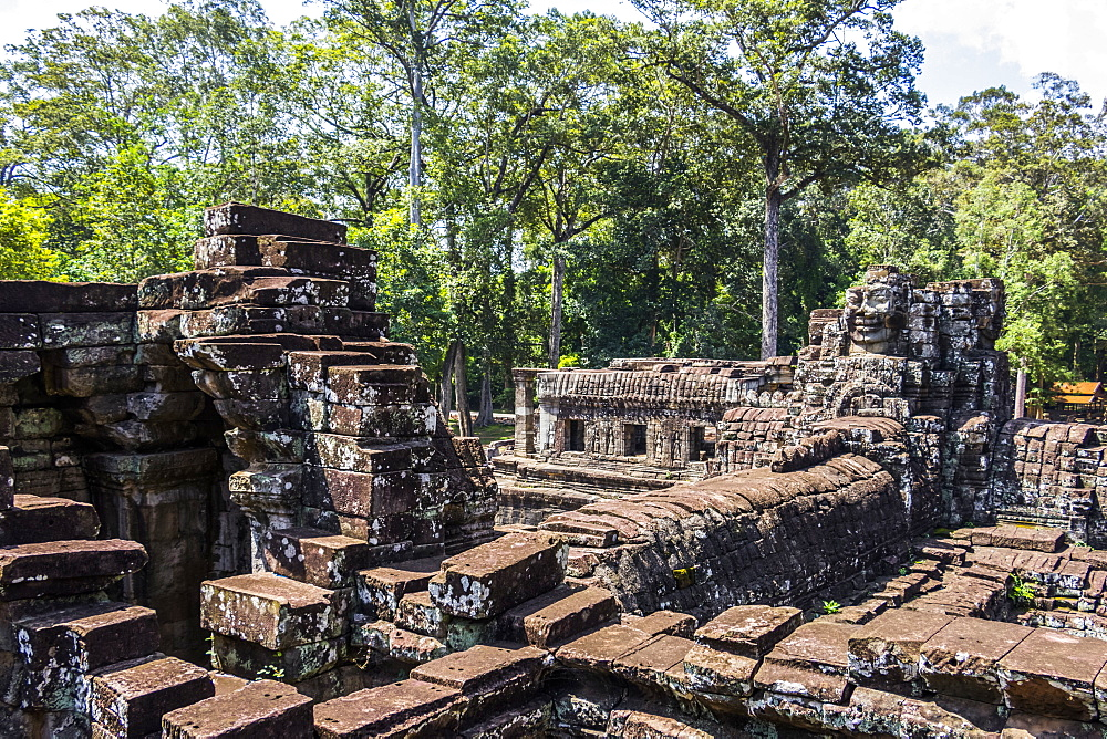 Library of the Bayon, Angkor Thom, Siem Reap, Cambodia
