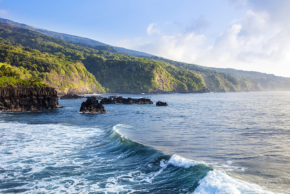 The rugged Kipahulu coast, Maui, Hawaii, United States of America