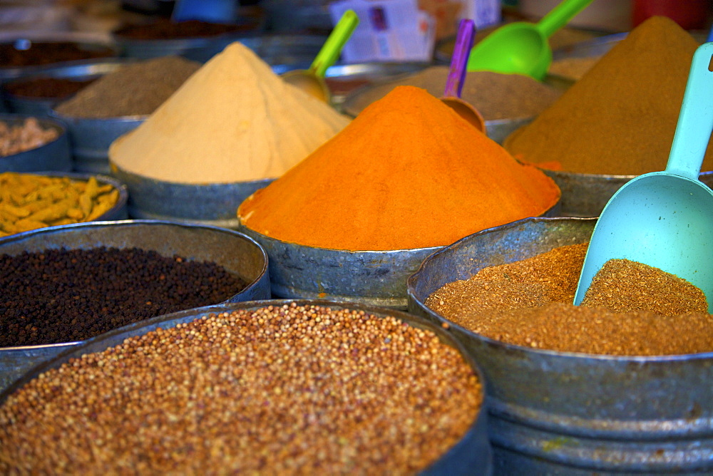 Spices, Fez, Morocco, North Africa, Africa