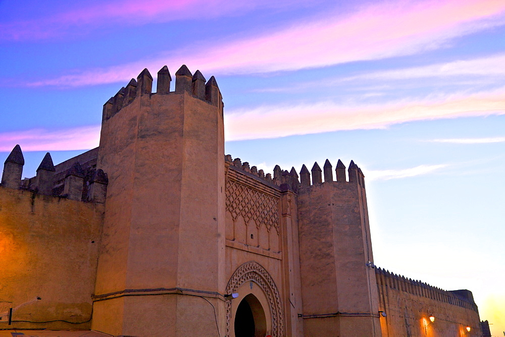Place Bou Jeloud, Fez, Morocco, North Africa, Africa
