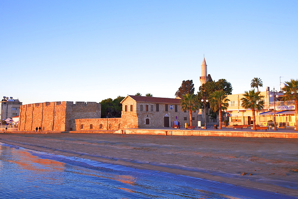 Larnaka Fort, Medieval Museum and Mosque, Larnaka, Cyprus, Eastern Mediterranean Sea