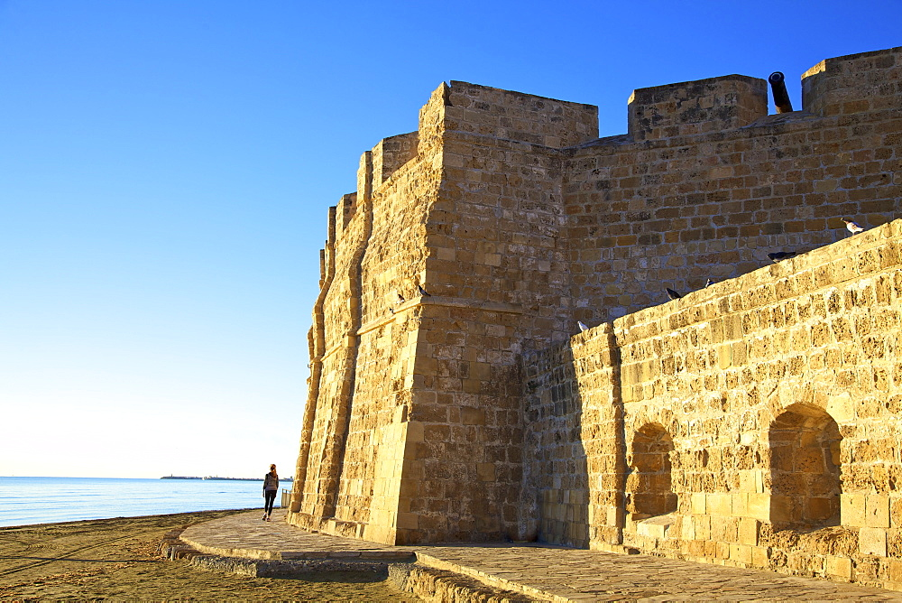 Larnaka Fort and Medieval Museum, Larnaka, Cyprus, Eastern Mediterranean Sea, Europe