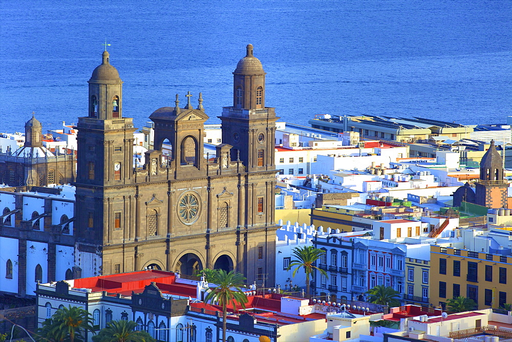 Santa Ana Cathedral, Vegueta Old Town, Las Palmas de Gran Canaria, Gran Canaria, Canary Islands, Spain, Atlantic Ocean, Europe