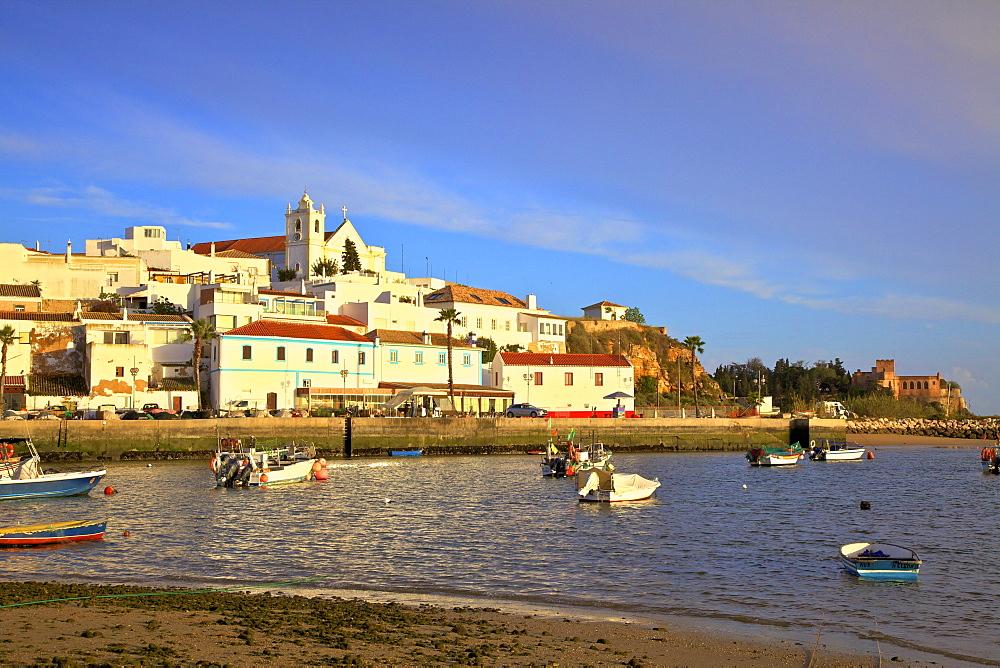 Ferragudo, Western Algarve, Algarve, Portugal, Europe - 1126-1554