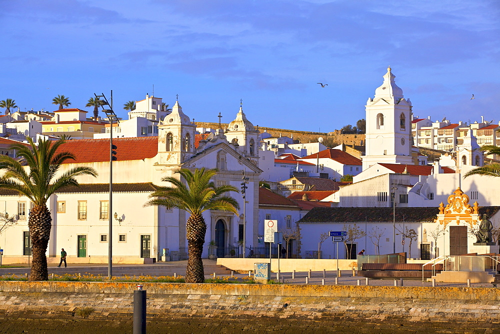 Lagos Old Town, Lagos, Western Algarve, Algarve, Portugal, Europe