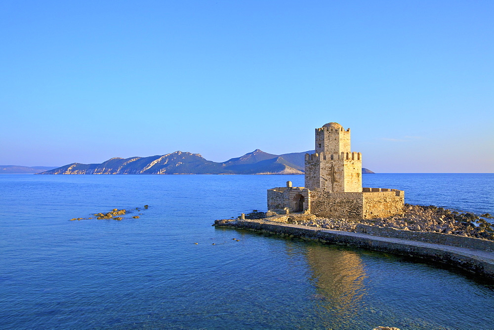 The Castle at Methoni, Messinia, The Peloponnese, Greece,  Europe - 1126-1696