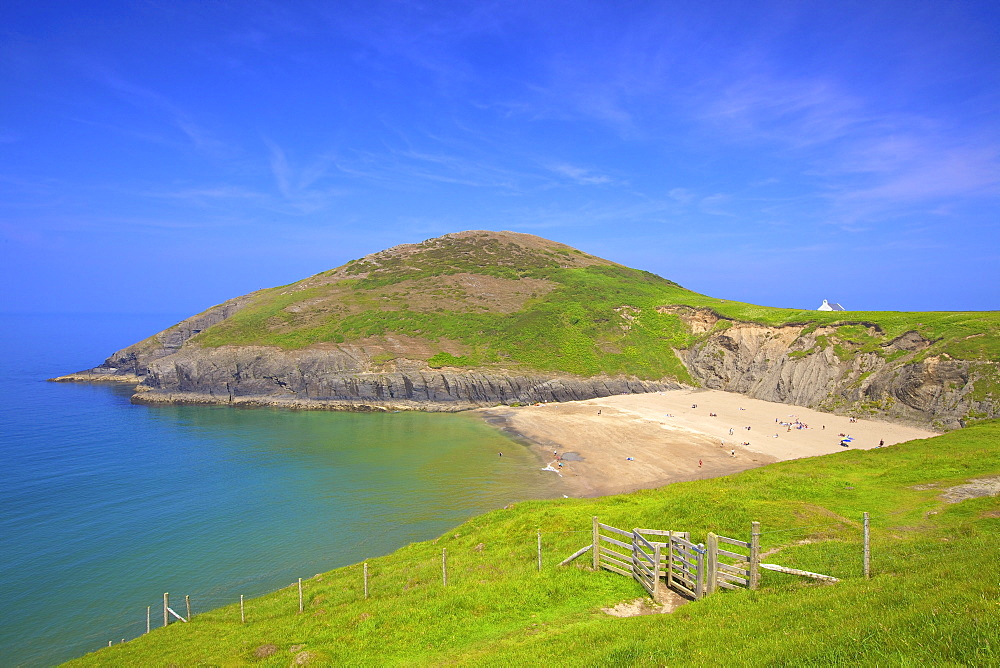 Mwnt Beach, Cardigan Bay, Wales, United Kingdom, Europe - 1126-1698