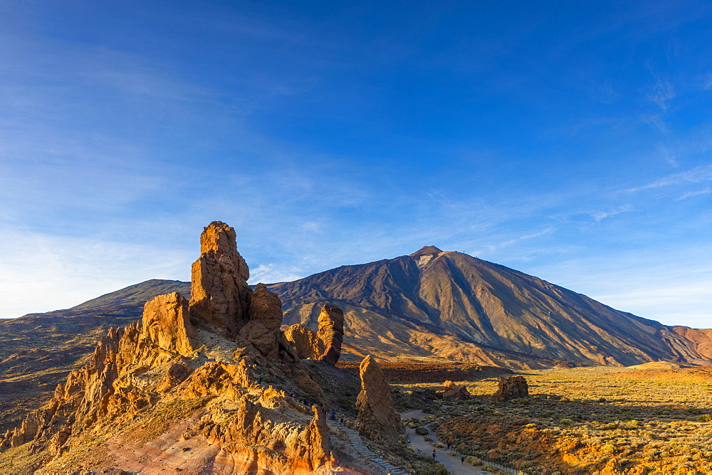 Mount Teide, Las Canadas National Park, UNESCO World Heritage Site, Tenerife, Canary Islands, Spain, Atlantic Ocean, Europe - 1126-1710