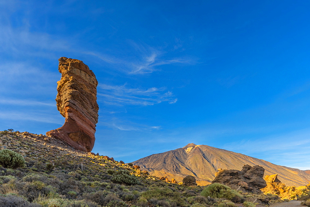 Mount Teide, Las Canadas National Park, UNESCO World Heritage Site, Tenerife, Canary Islands, Spain, Atlantic Ocean, Europe - 1126-1711