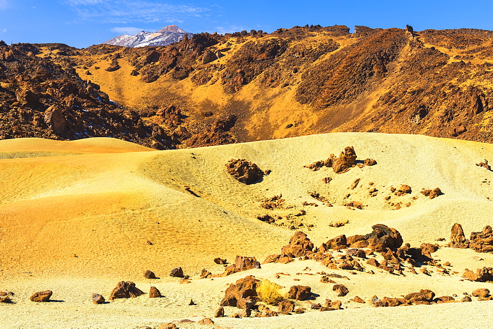 Pumice stone field, Teide National Park, UNESCO World Heritage Site, Tenerife, Canary Islands, Spain, Europe