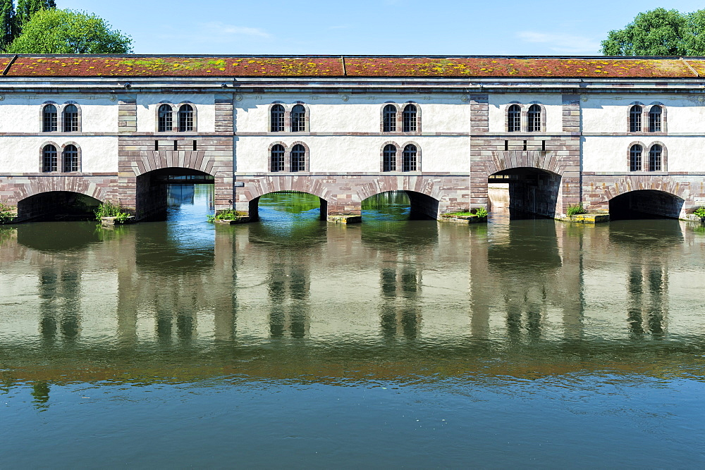 Barrage Vauban, Strasbourg, Alsace, Bas-Rhin Department, France, Europe - 1131-1036