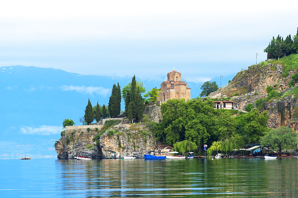 St. John Theologian-Kaneo Church, Ohrid Lake, UNESCO World Heritage Site, Macedonia, Europe - 1131-1139