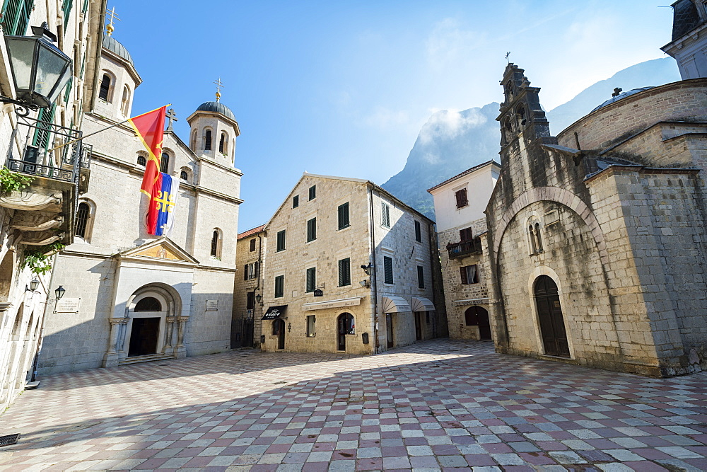Saint Nicholas and Saint Luke Churches, Unesco World Heritage Site, Kotor, Montenegro - 1131-1175