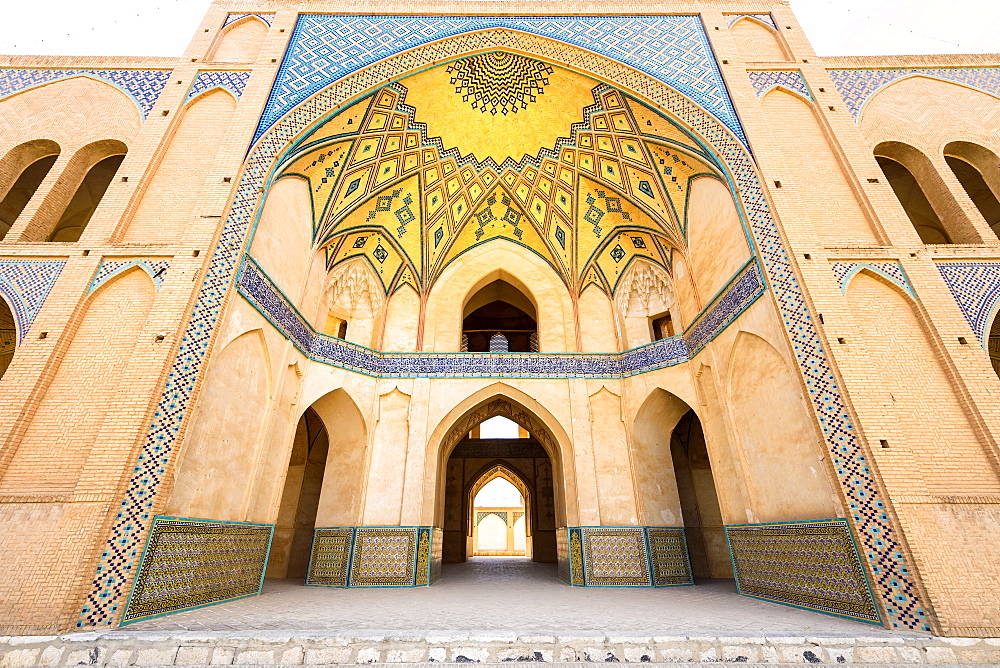 Agha Bozorg Mosque, Kashan, Isfahan Province, Islamic Republic of Iran, Middle East - 1131-1287