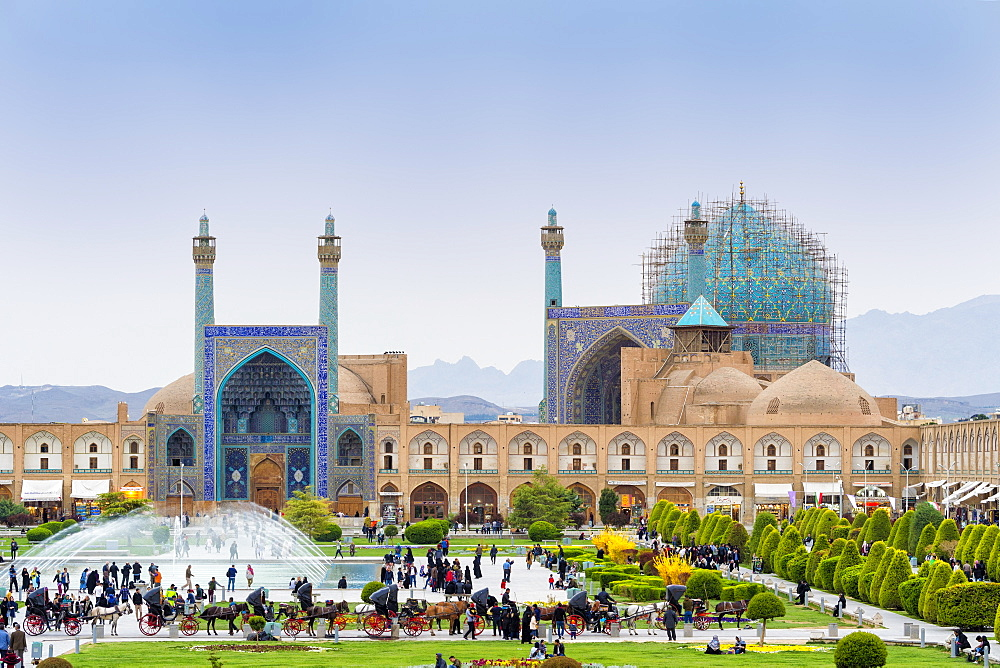 Masjed-e Imam Mosque, Maydam-e Iman square, UNESCO World Heritage Site, Esfahan, Iran, Middle East - 1131-1325