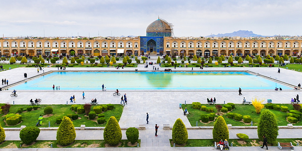 Sheikh Loftallah Mosque, Maydam-e Iman square, UNESCO World Heritage Site, Esfahan, Iran, Middle East