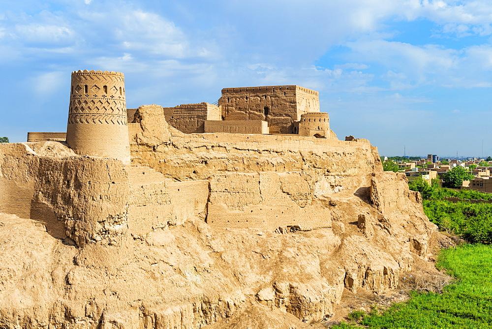 Narin Qaleh (Narin Ghaleh), Meybod mud-brick fortress, Meybod, Yazd Province, Iran, Middle East - 1131-1412