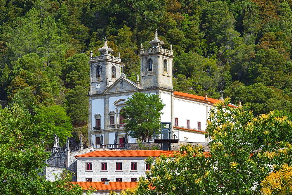 Nossa Senhora da Peneda Sanctuary, Peneda Geres National Park, Gaviera, Minho province, Portugal, Europe - 1131-1428