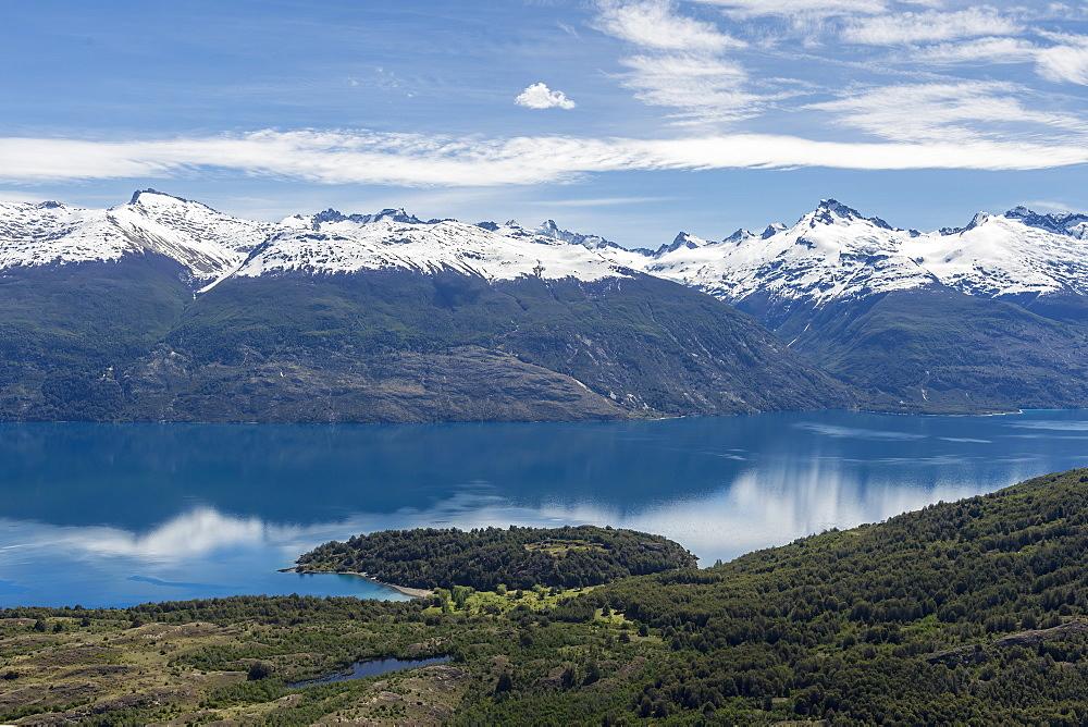 Laguna San Rafael National Park, aerial view, Aysen Region, Patagonia, Chile, South America - 1131-1507