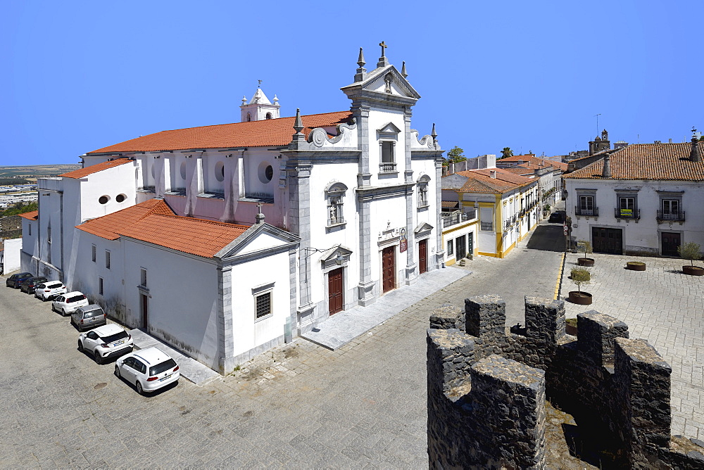 Beja Cathedral (Cathedral of St. James the Great), Lidador square, Beja, Alentejo, Portugal - 1131-1548