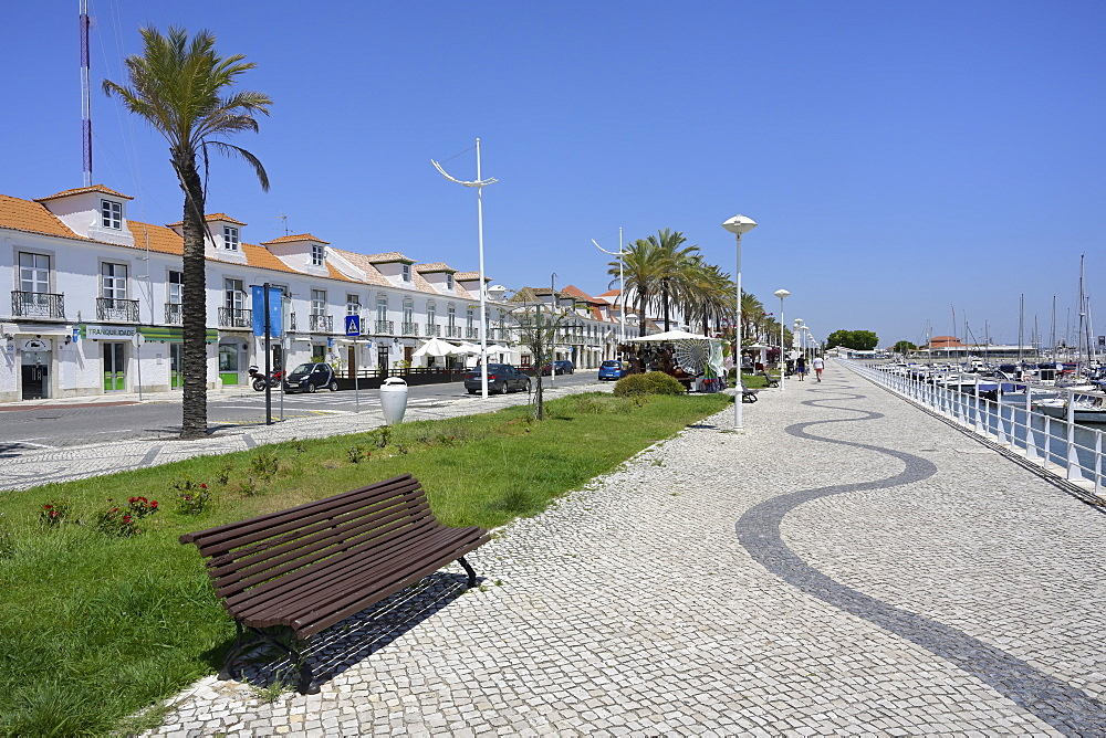 Waterfront promenade, Vila Real de Santo Antonio, Algarve, Portugal, Europe - 1131-1563