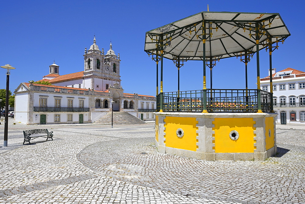 Our Lady of Nazare Church, Largo Nossa Senhora da Nazare, Sitio village, Nazare, Leiria district, Portugal