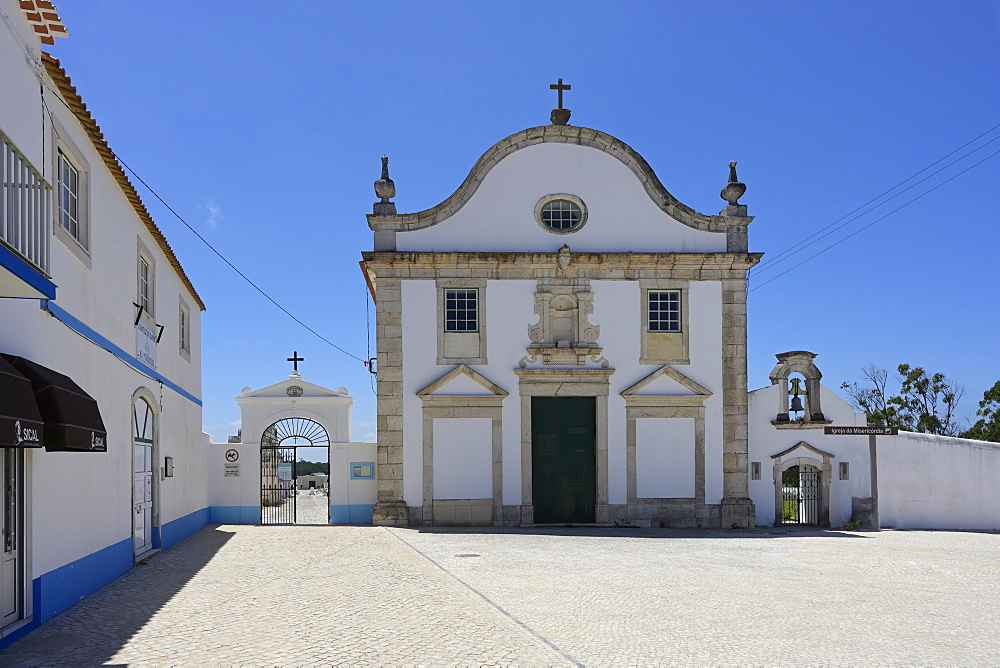 Church of Misericordia, Pederneira, Nazare, Leiria district, Portugal