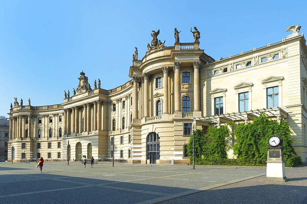 Humboldt University, Alte Bibliothek (former Royal Library), Belbelplatz, Berlin, Brandenburg, Germany, Europe